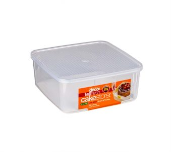 Decor Tellfresh  Square Container with Cake Lifter 3.5L ...