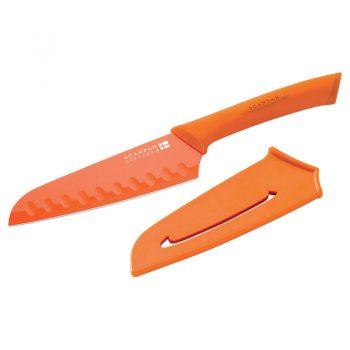Scanpan Spectrum Santoku Knife 14cm Orange