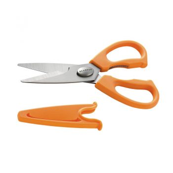 Scanpan Spectrum Take-Apart Kitchen Shears Orange