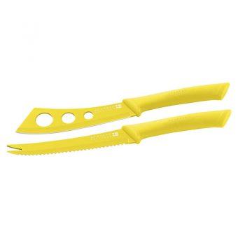 Scanpan Spectrum Cheese Knife Set Yellow