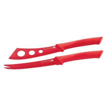 Scanpan Spectrum Cheese Knife Set Red