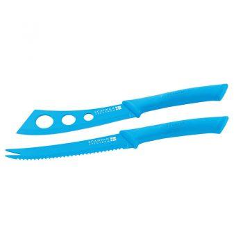 Scanpan Spectrum Cheese Knife Set Blue