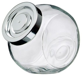 pandora glass biscuit jar