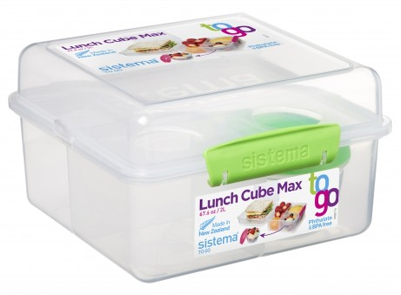 Klip It Lunch Cube Max To Go 2l Chef S Complements