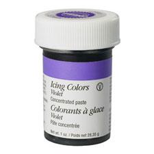 wilton violet coloured gel for