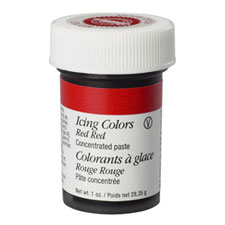 wilton red-red icing color