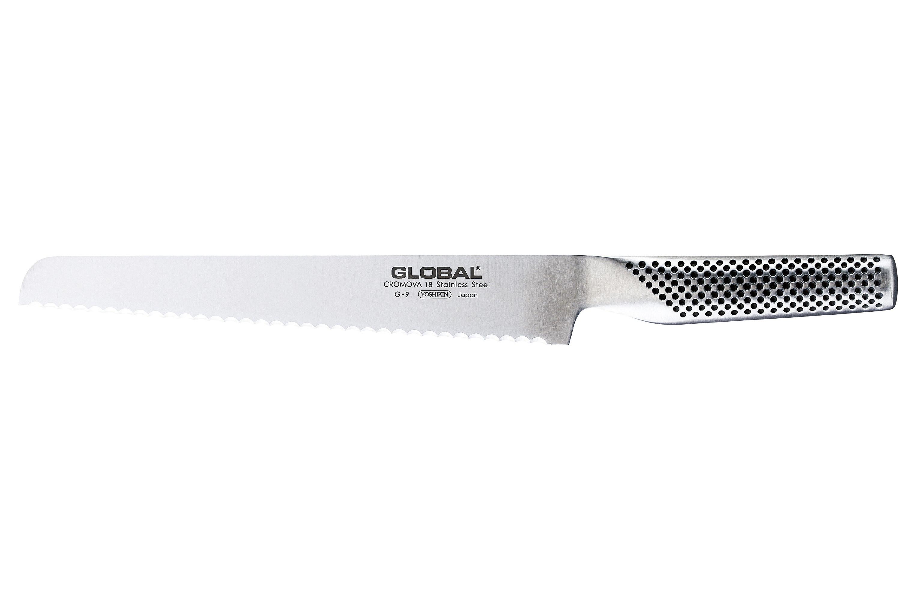 Global G-9 Bread Knife 22cm