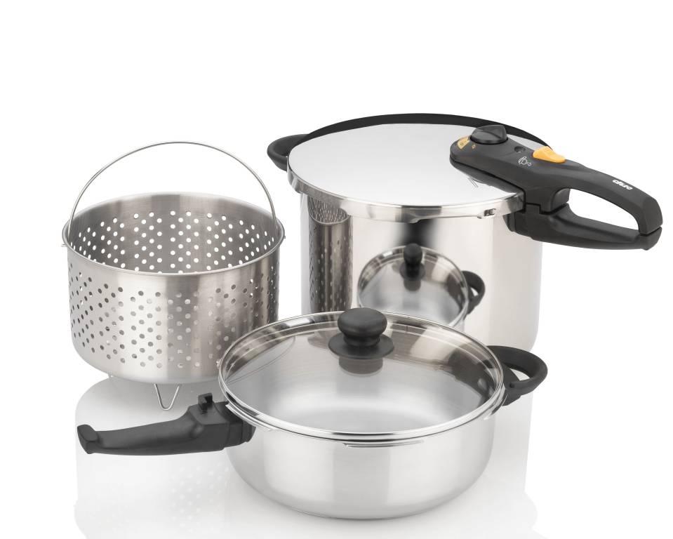 pressure cooker combi set