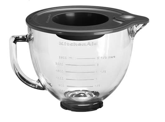 Kitchenaid Bowl 4 7l Glass Bowl For Tilt Head Stand Mixers