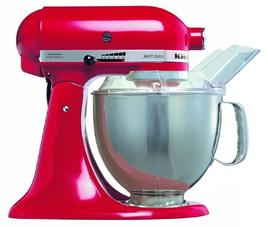 kitchenaid cake mixer empire red