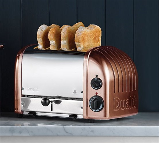 Dualit 4 Slice Toaster Copper Finish Chef S Complements