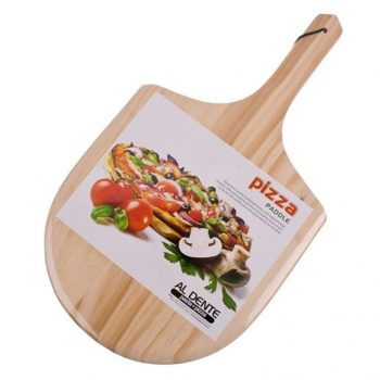 al dente pizza paddle made of wood