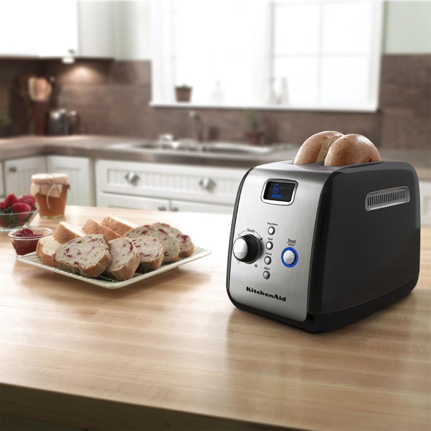 Kitchenaid Artisan Kmt223 2 Slice Toaster Onyx Black