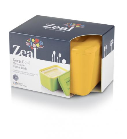 zeal yellow butter dish