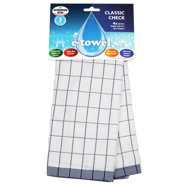 e cloth tea towel