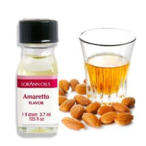 amaretto flavor lorann oil dram bottle