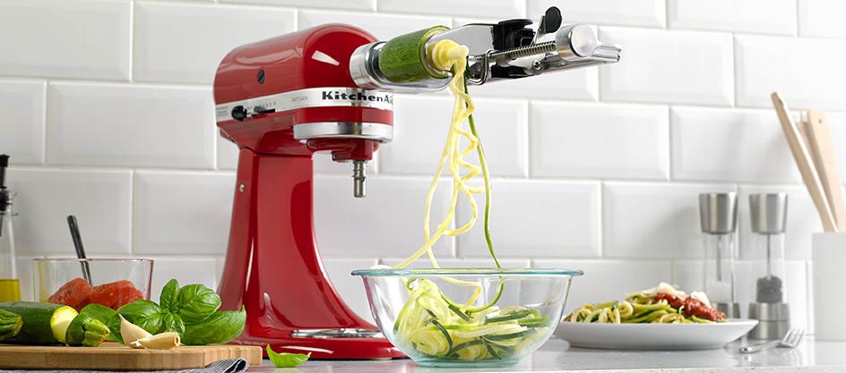 Kitchenaid Spiralizer Attachment Ksm1apc Chef S Complements