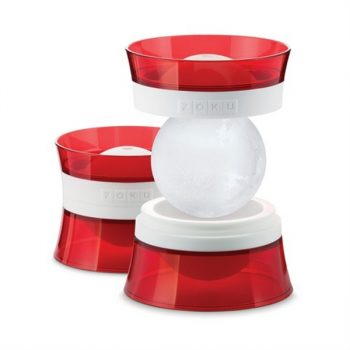 zoku sphere shaped ice cube mold