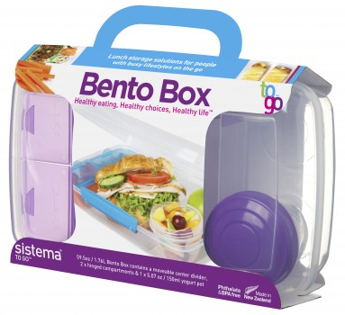 Sistema Bento Box TO GO 1.76L | Chef's Complements