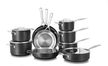 professional hard anodized cookeware range from Le Creuset