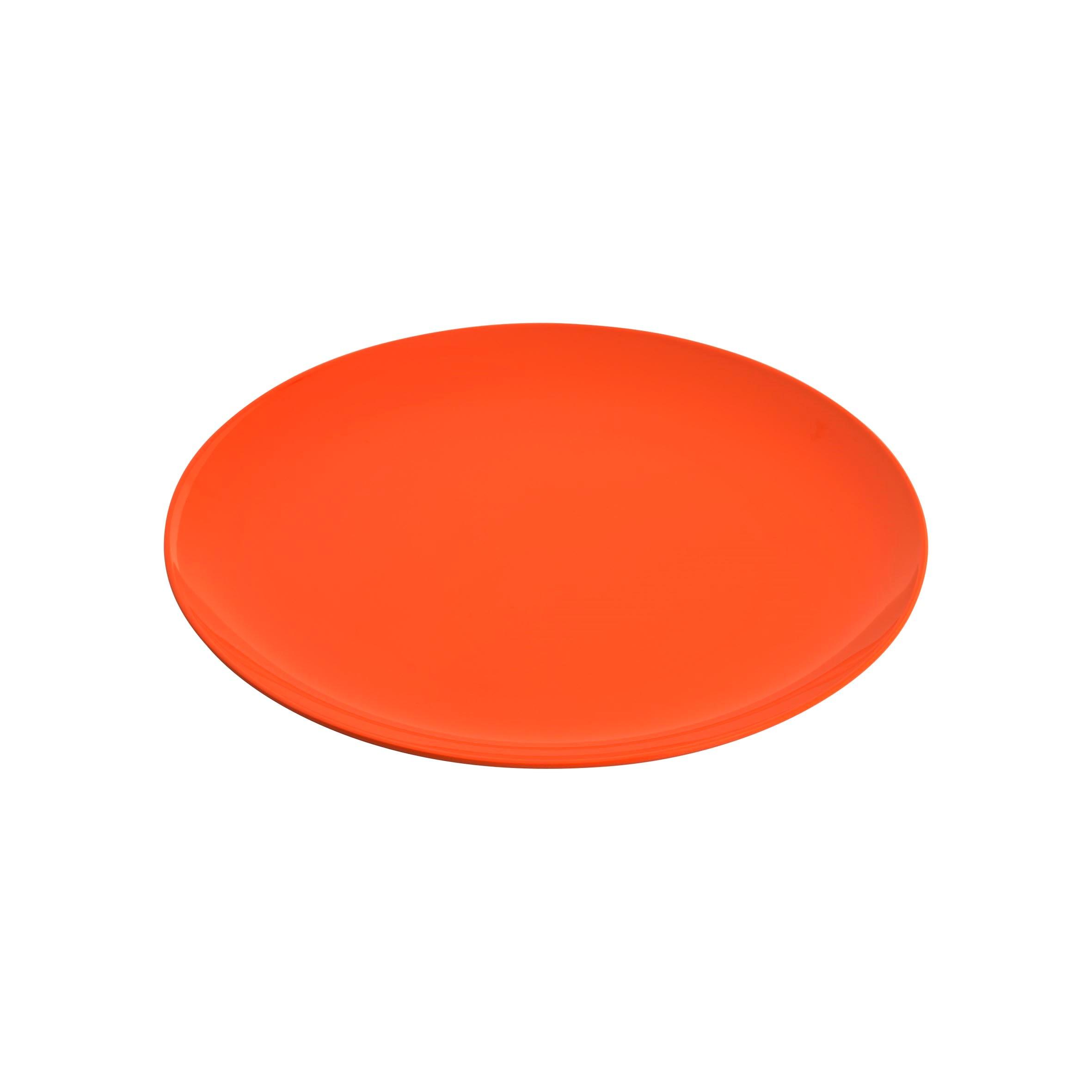 47480 Jab Gelato Orange Coupe Plate 20cm