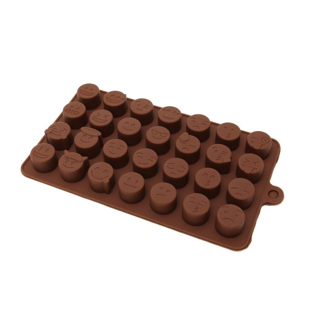 Silicone Chocolate Mould - Emoji | Chef's Complements
