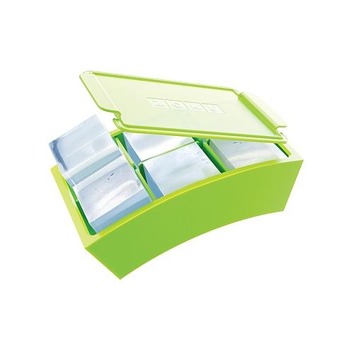 zoku silicone square jumbo ice cube tray