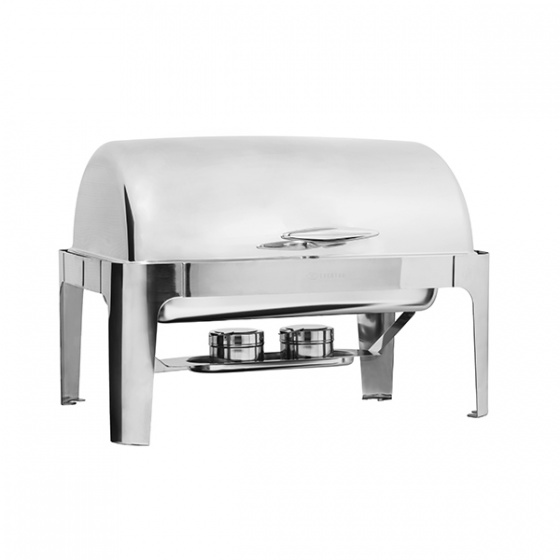 DELUXE ROLL TOP RECTANGULAR CHAFER