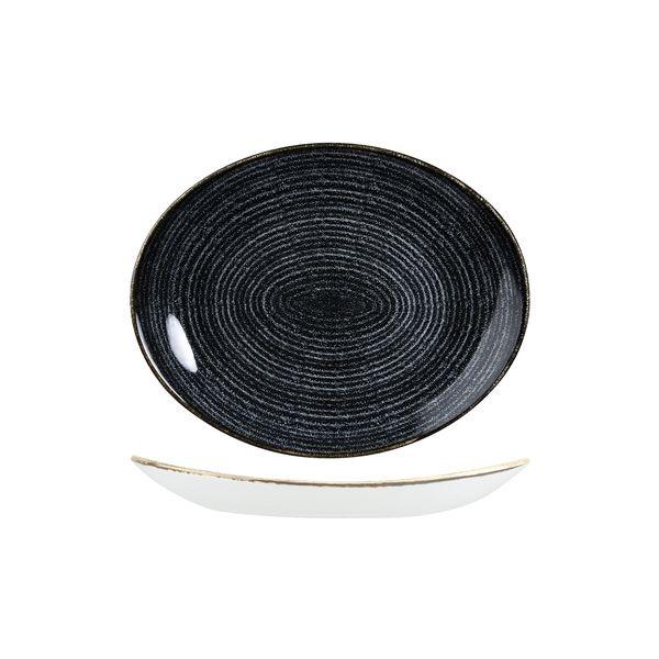 churchill studio prints oval coupe plate