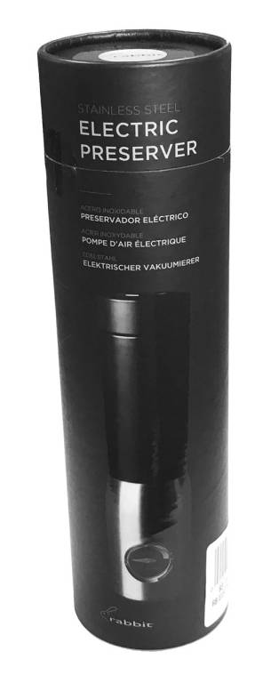 89030 - Electric Wine Preserver SS - Packaging