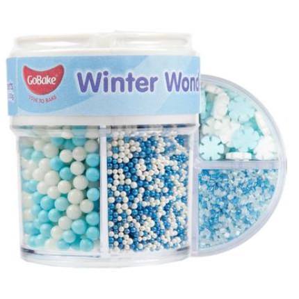 gobake winter wonderland sprinkles