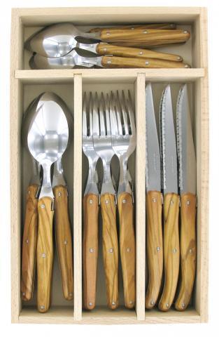 andre verdier debutante olie wood cutlery set