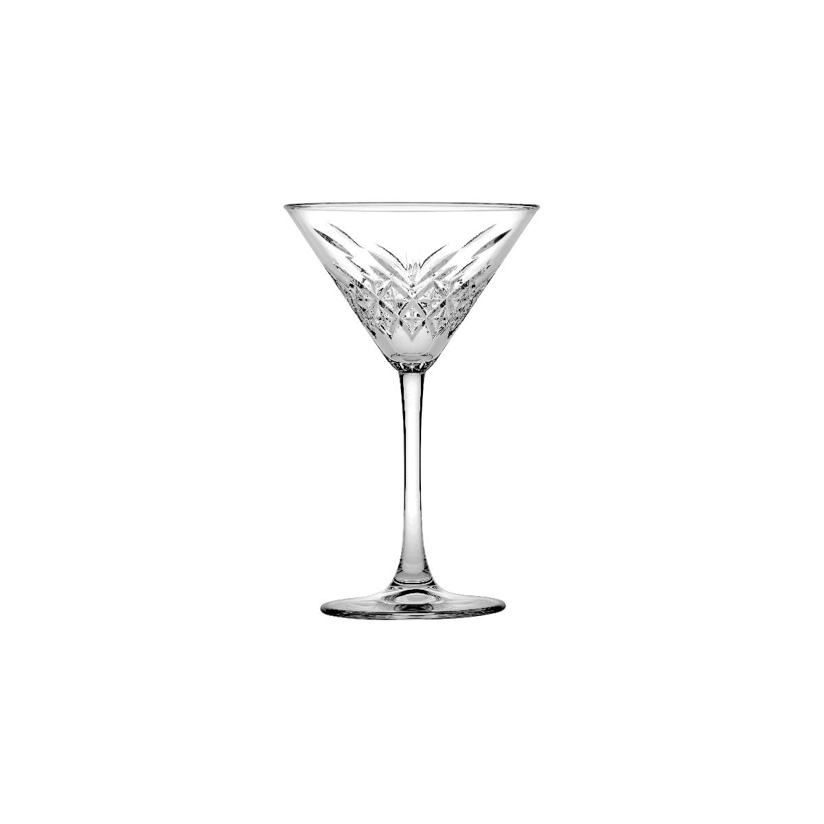 pasabahce timelwss martini glass