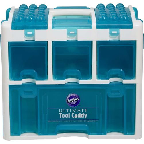 wilton cake decorating tool caddy