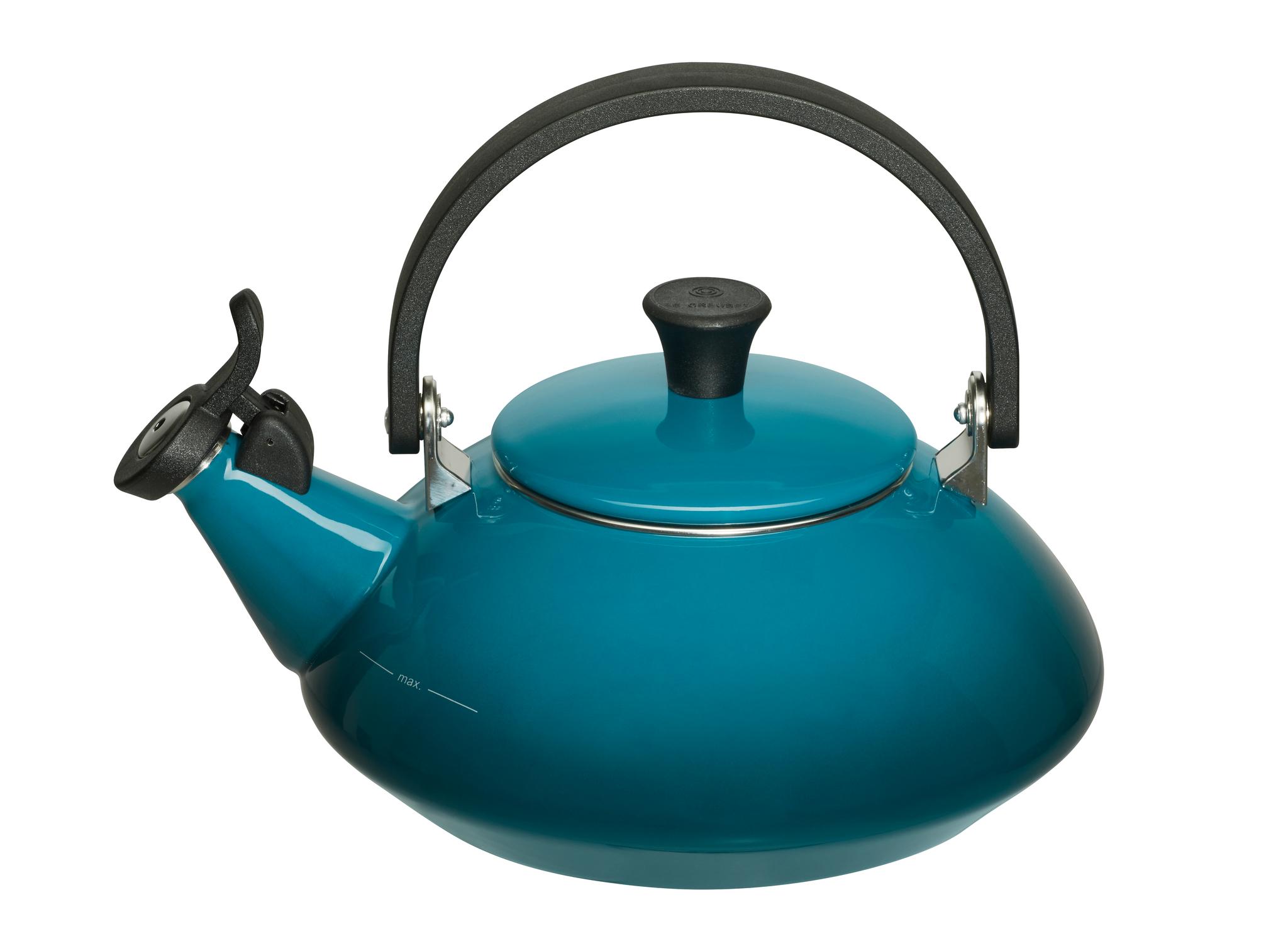 deep teal zen kettle