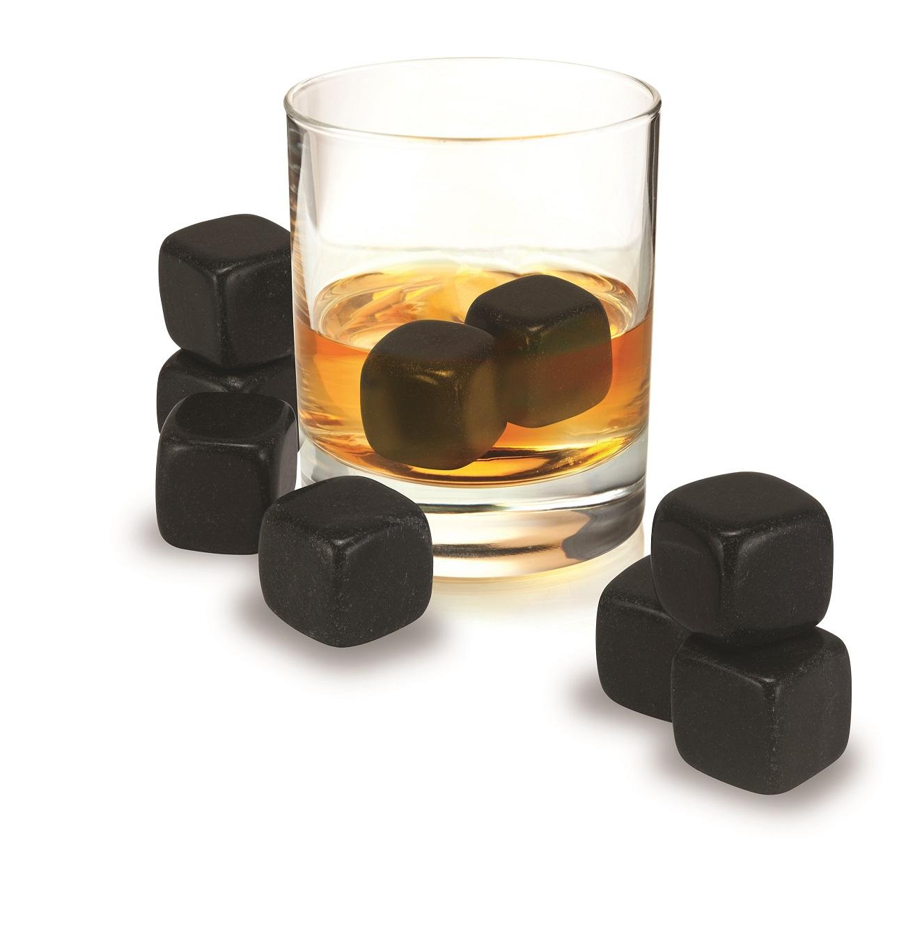 avanti black granite whisky rocks