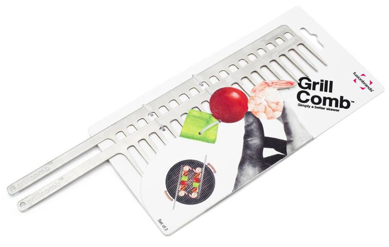 Grill comb set of 2