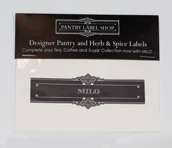 Classic Milo Label