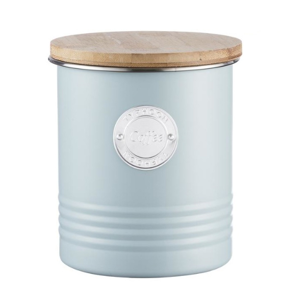 Typhoon Coffee canister Blue