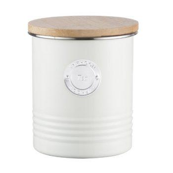 Typhoon Tea canister Cream