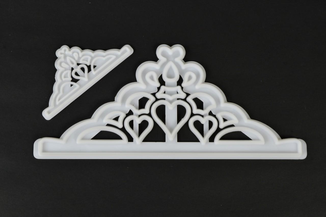 tiara sugarcraft cutter set