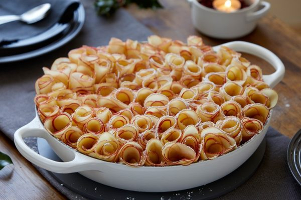 Ginger Biscuit & Apple Frangipane Tart