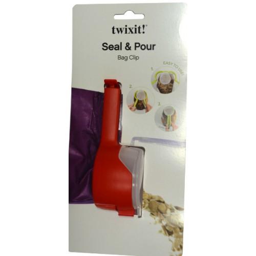 TWIXIT BAG CLIP SEAL & POUR LINDEN