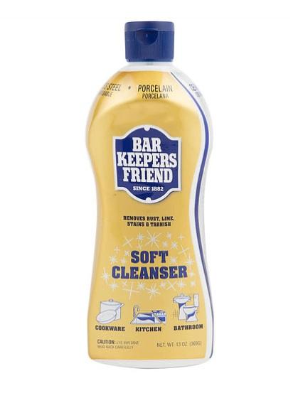 bar keepers friend soft cleanser 369gm bottle