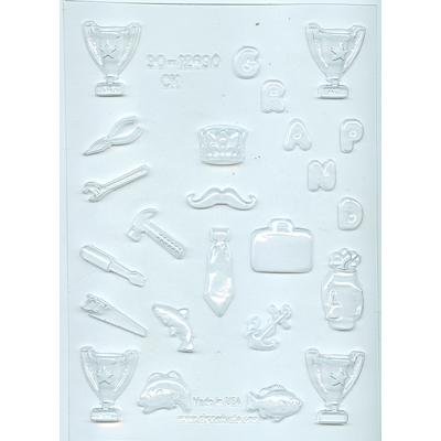 fathers assortment chocolate mould
