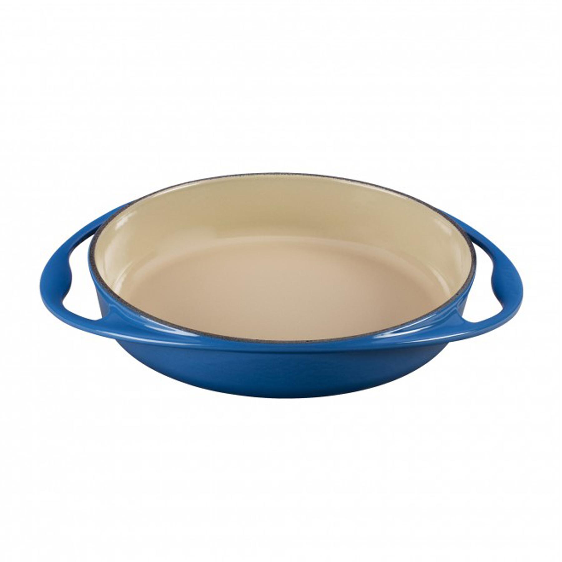 Cast Iron Tarte Tatin Dish Marseille Blue