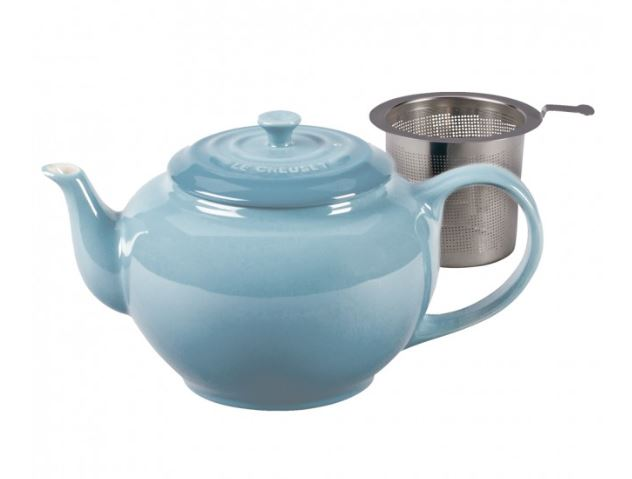 Classic Teapot with Infuser Coastal Blue