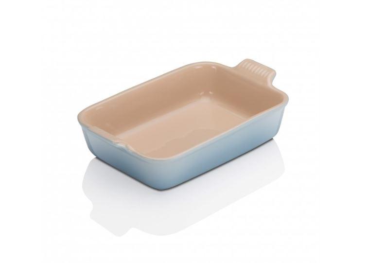 stoneware Rectangle Dish Coastal Blue 26