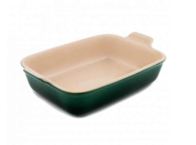 stoneware Rectangle Dish Kale 26