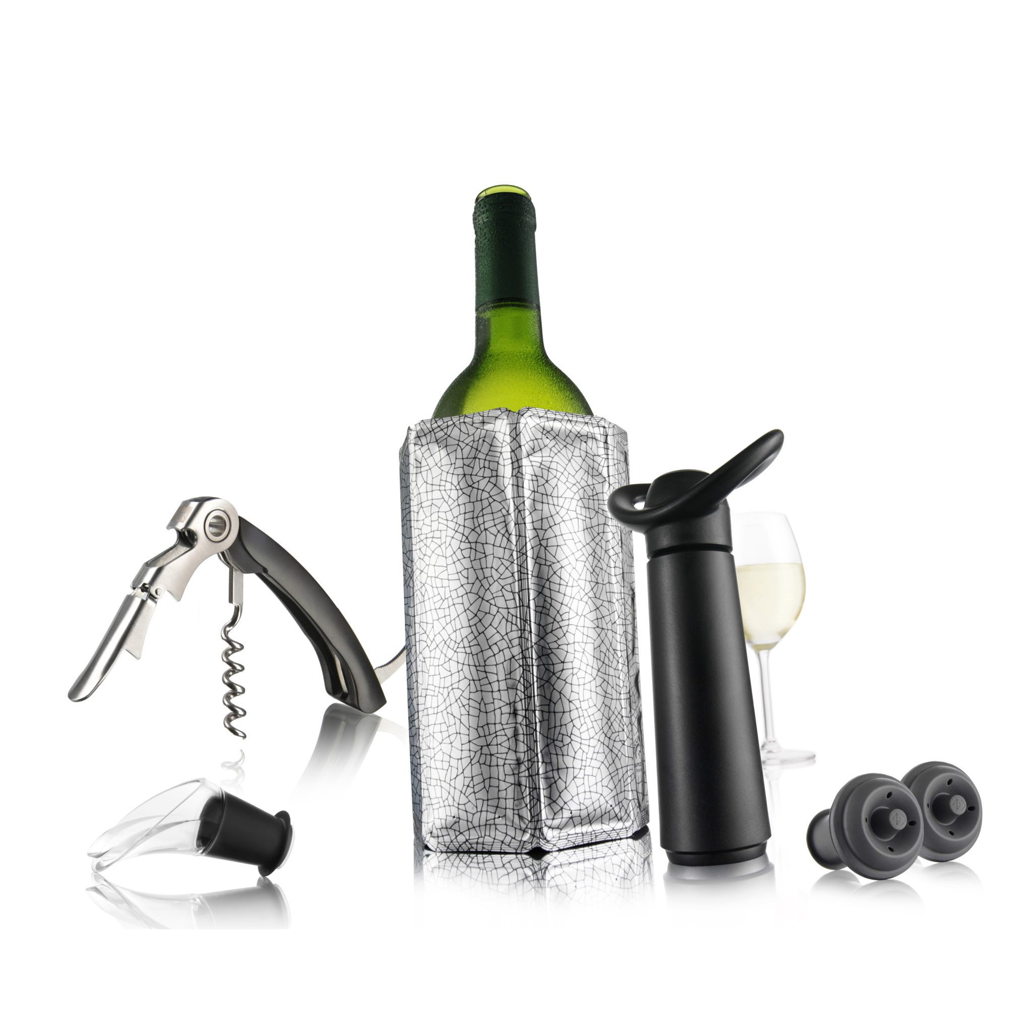 VV6889060 Vacu Vin Wine Essentials Gift Set